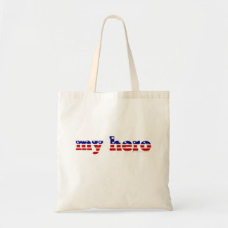 Mi azul blanco rojo patriótico de las barras y est bolsa tela barata