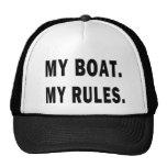 Mi barco. Mis reglas - canotaje divertido Gorro