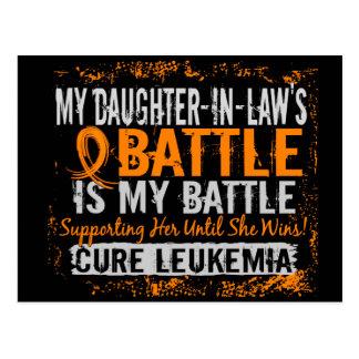 Mi batalla nuera de demasiado 2 leucemias tarjetas postales