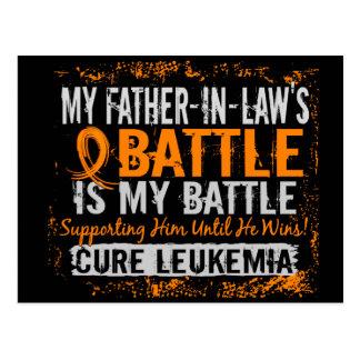 Mi batalla suegro de demasiado 2 leucemias tarjetas postales