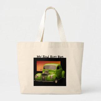 Mi bolso del funcionamiento de Rod, Ford verde Bolsa Lienzo