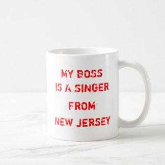 Mi Boss es cantante de New Jersey Taza De Café