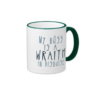 Mi Boss es un Wraith en taza del disfraz