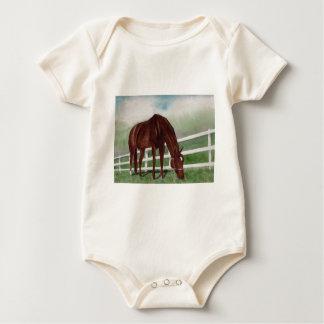 Mi caballo body para bebé