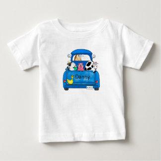 Mi camión azul grande camiseta de bebé
