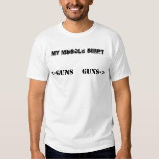 Mi camisa del músculo