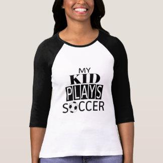 Mi camisa del #SoccerMom del fútbol de los juegos