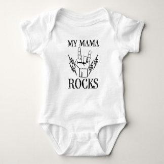 Mi camisa divertida del bebé del refrán de mamá