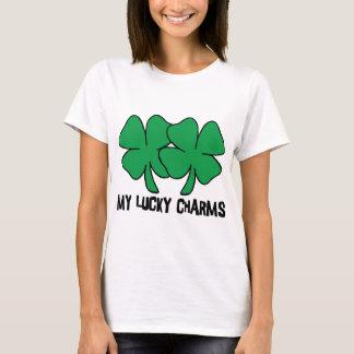 Mi camiseta afortunada de los encantos