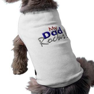 Mi camiseta del mascota de las rocas del papá