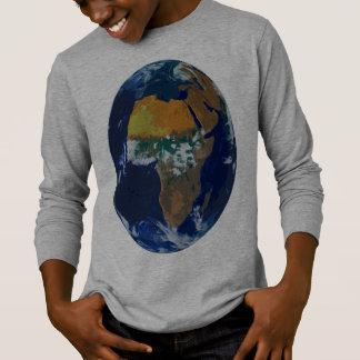 Mi camiseta larga de Sleve del mundo