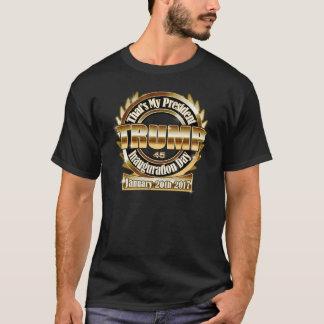 Mi camiseta negra del día de inauguración de