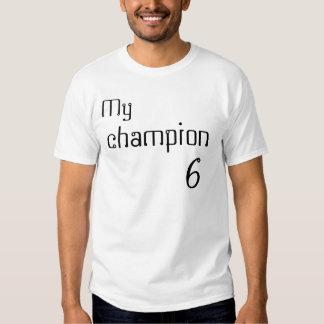 Mi, campeón, 6 camiseta
