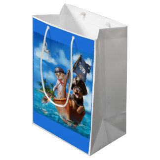 Mi capitán bolsa de regalo mediana