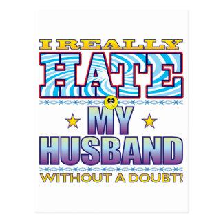 Mi cara del odio del marido postal