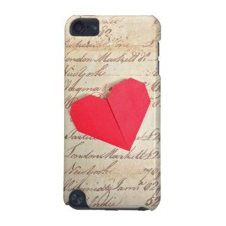 Mi caso del tacto 5 de iPod del amor Funda Para iPod Touch 5G