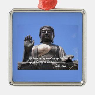 Mi cerebro y mi corazón son mis templos Dalai Lama Ornamentos De Reyes