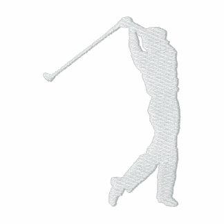 Mi chaqueta bordada golf del paño grueso y suave d