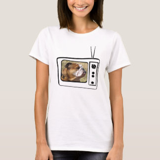 mi chica de gucci en t.v. camiseta