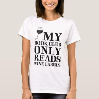 Mi círculo de lectores lee solamente la camiseta