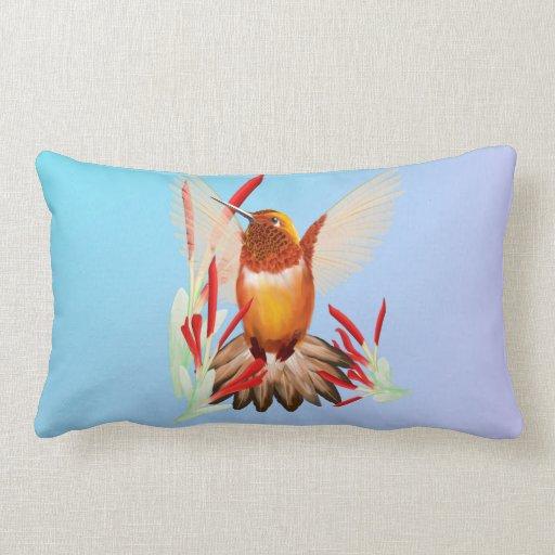 Mi colibrí soleado cojin
