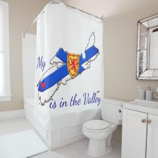 Mi corazón es la cortina de ducha de Nueva Escocia