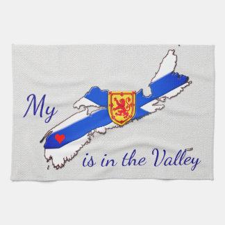 Mi corazón es la toalla de cocina de Nueva Escocia