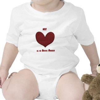 Mi corazón está en Addis Ababa Trajes De Bebé