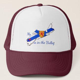 Mi corazón está en el gorra de Nueva Escocia del