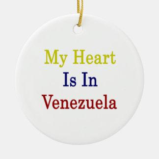 Mi corazón está en Venezuela Adornos