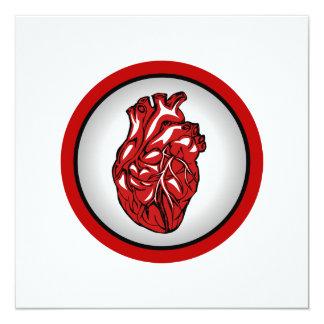 Mi corazón para mi tarjeta del día de San Valentín Invitación 13,3 Cm X 13,3cm