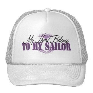 Mi corazón pertenece a mi marinero gorro