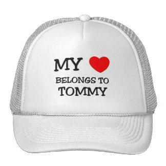 Mi corazón pertenece a Tommy Gorro De Camionero