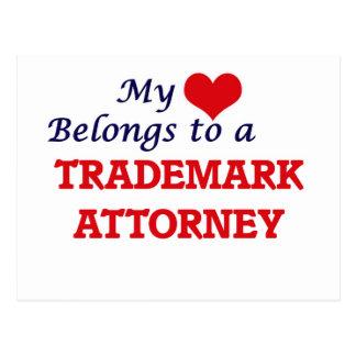 Mi corazón pertenece a un abogado de la marca postal