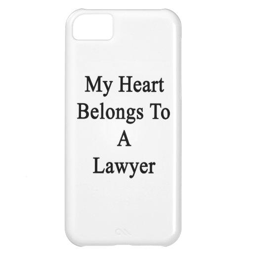 Mi corazón pertenece a un abogado