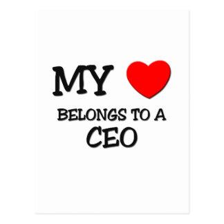 Mi corazón pertenece a un CEO Postal