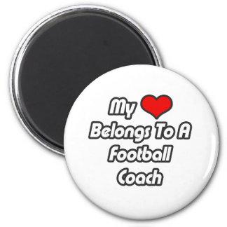 Mi corazón pertenece a un entrenador de fútbol iman