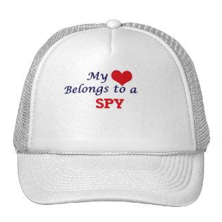 Mi corazón pertenece a un espía gorra