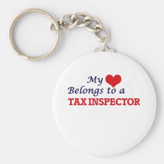 Mi corazón pertenece a un inspector del impuesto llavero