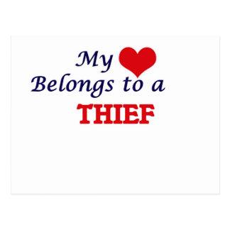 Mi corazón pertenece a un ladrón postal