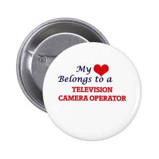 Mi corazón pertenece a un operador de la cámara de chapa redonda de 5 cm