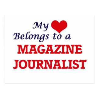 Mi corazón pertenece a un periodista de la revista postal