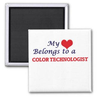 Mi corazón pertenece a un tecnólogo del color imán
