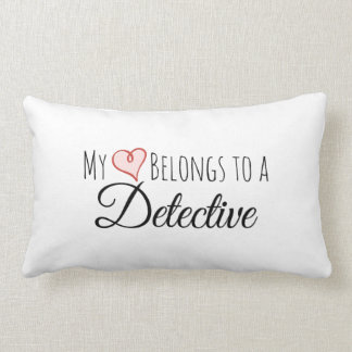 Mi corazón pertenece a una almohada lumbar
