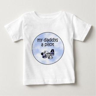 Mi Daddys un piloto Camiseta De Bebé
