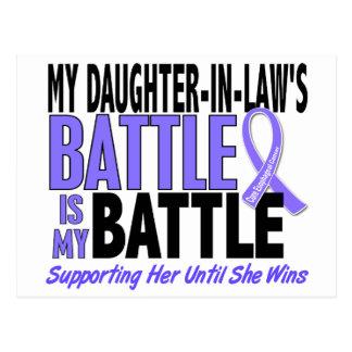 Mi de la batalla cáncer del esófago de la nuera ta tarjeta postal