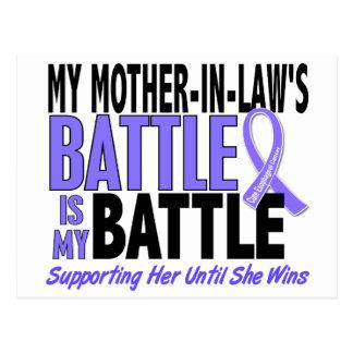 Mi de la batalla cáncer del esófago de la suegra postal