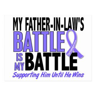 Mi de la batalla cáncer del esófago del suegro postal
