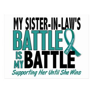 Mi de la batalla cáncer ovárico de la cuñada postal