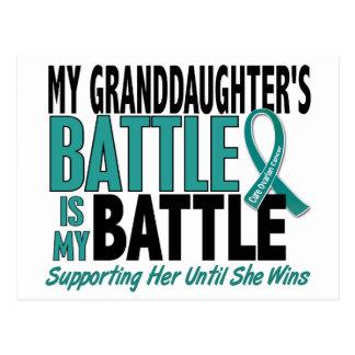 Mi de la batalla cáncer ovárico de la nieta postal